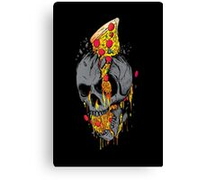 Rest in pizza Canvas Print