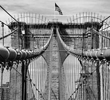 Brooklyn Bridge by Peter Dials