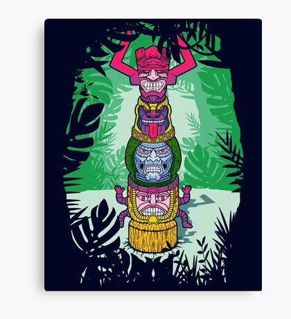 Cult of Villains. Canvas Print