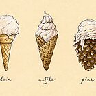 Ice-Cream Cones by Mariya Olshevska