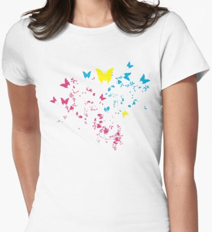 BUTTERFLYS Womens Fitted T-Shirt