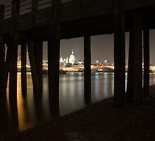 St Pauls under the pier by Rupert