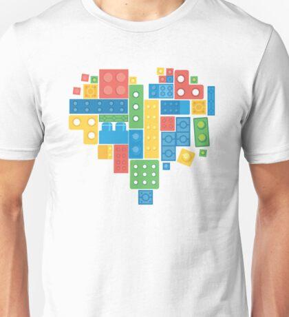 Lovely Blocks Unisex T-Shirt