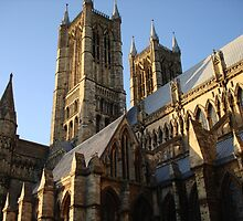 Lincoln Cathedral by J S McKay