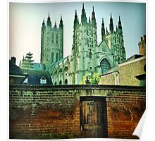 Secret Entrance to Canterbury Cathedral Poster