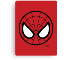 Hero Circles - Spidey Canvas Print