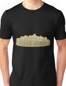 Glitch Abbasid Land background buildings 1 Unisex T-Shirt