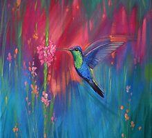 Little Hummingbird by Jane Delaford Taylor