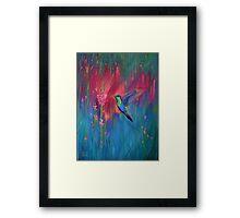 Little Hummingbird Framed Print