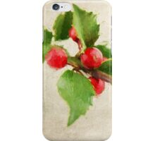 A Holly Jolly Christmas iPhone Case/Skin