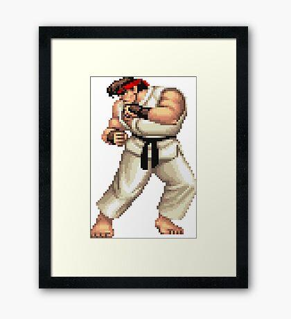 Street Fighter 2 Ryu Framed Print