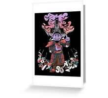 The Count untold. Greeting Card