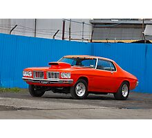Orange Holden HQ Monaro Photographic Print