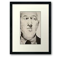 Disapproving Glance Framed Print