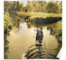 River tours around Canterbury Poster