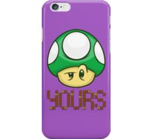 1 Up Yours iPhone Case/Skin