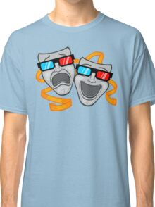 Live Theater - in 3D Classic T-Shirt