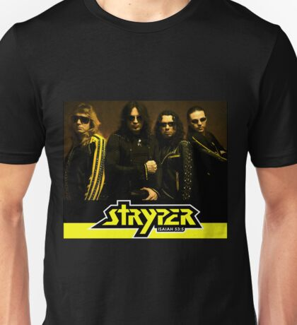 STRYPER ISAIAH 53:5 SPECIAL EDITION COVER TOUR Unisex T-Shirt
