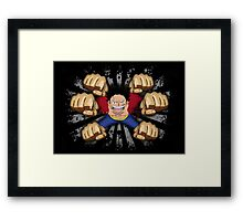 Gatling Framed Print