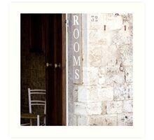 Rooms - Tuscany Art Print