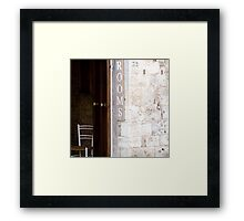 Rooms - Tuscany Framed Print