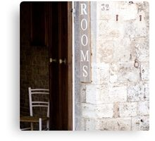 Rooms - Tuscany Canvas Print
