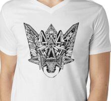 Aztec Woman Mens V-Neck T-Shirt