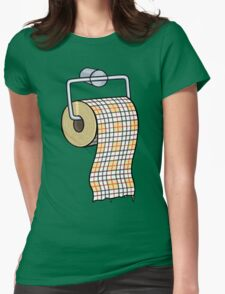 Toilet Pay Per Womens Fitted T-Shirt
