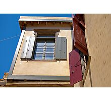 Windows and Shutters Photographic Print