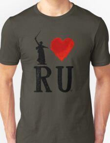 I Heart Russia black by Tai's Tees Unisex T-Shirt
