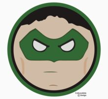 Hero Circles - The Green Lantern by jimcwood