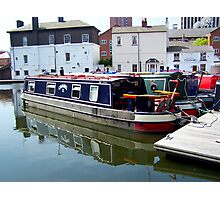 Canal barge Photographic Print