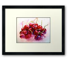 Cherries...Ripe Framed Print