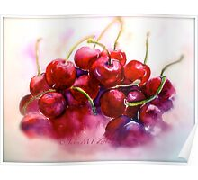 Cherries...Ripe Poster
