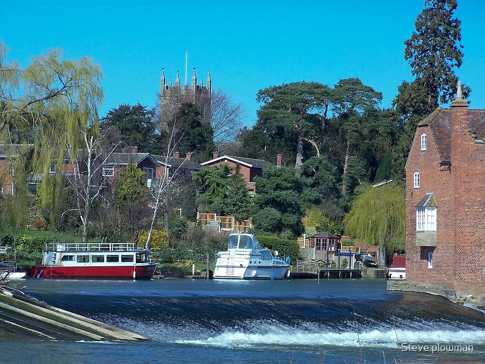 Fladbury Mill by Steve plowman