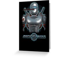 Pacific Vault Greeting Card