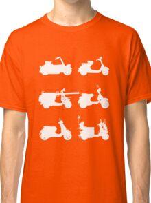 History of Vespa Classic T-Shirt