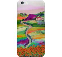 Tuscan countryside iPhone Case/Skin