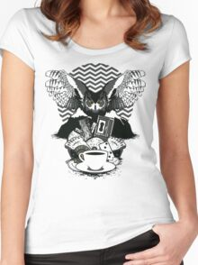 Secrets are Dangerous Women's Fitted Scoop T-Shirt