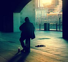 the busker by meanderthal
