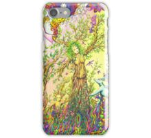 Tree woman, we all come from the Earth iPhone Case/Skin