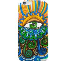 Flowing Eye iPhone Case/Skin
