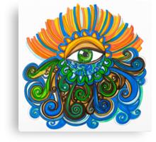 Flowing Eye Canvas Print