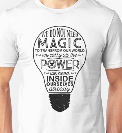 Official Lumos 'Be the Light' T-shirt Unisex T-Shirt