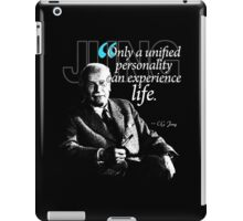 A Quote from Carl Gustav Jung Quote #7 of 50 available iPad Case/Skin