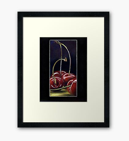 Drunk Cherries  Framed Print