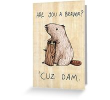 Dam Greeting Card