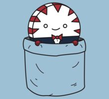 Peppermint butler in a pocket Kids Clothes