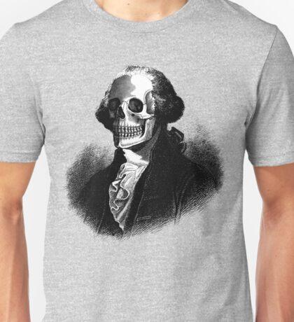 George Washington Skull Unisex T-Shirt