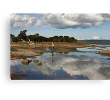 Mirror Water Canvas Print